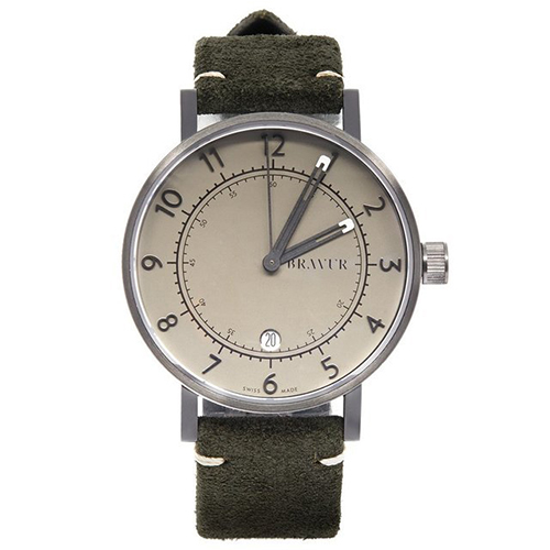 Grey Dial Watch